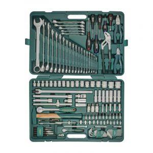 Универсальный набор инструментов, 128 предметов Jonnesway S04H524128S