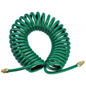 Шланг полиуретановый спиральный для пневматического инструмента 5х8 мм, 8 м Jonnesway JAZ-7214E