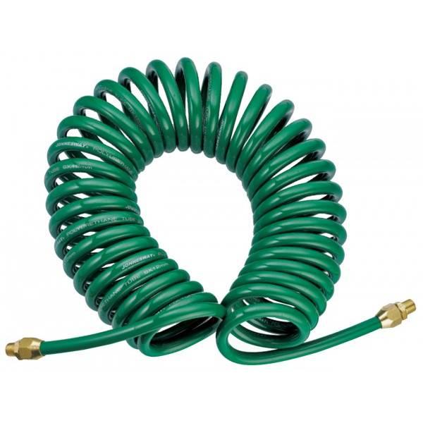 47510 Шланг полиуретановый спиральный для пневматического инструмента 5х8 мм, 8 м Jonnesway